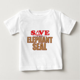 Elephant Seal Save Baby T-Shirt