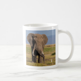 Elephant Searching the Ground Coffee Mug