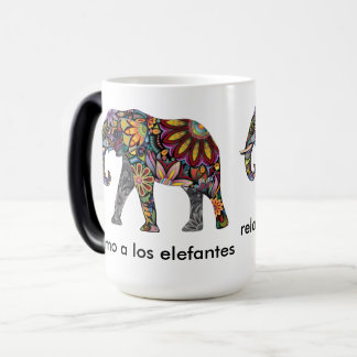 elephant sends it to color relaxes to you and magic mug