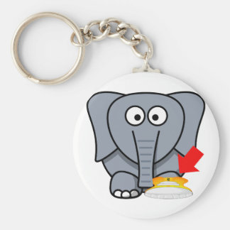 Elephant Shoe I Love You Key Ring