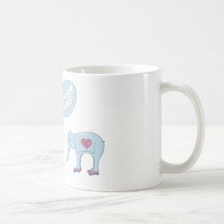 Elephant Shoes Basic White Mug