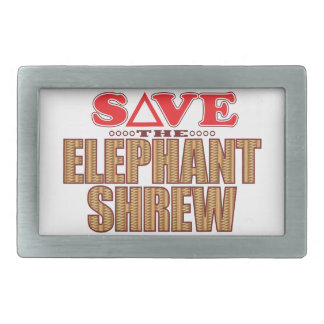 Elephant Shrew Save Belt Buckles