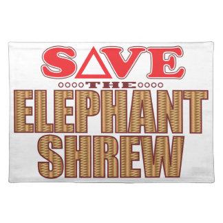 Elephant Shrew Save Placemat