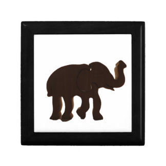 Elephant Silhouette Gift Box