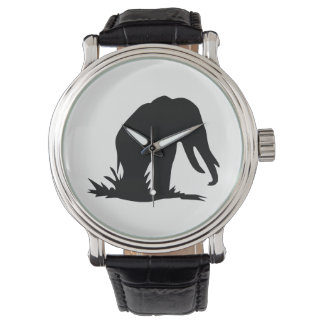 Elephant Silhouette Watch
