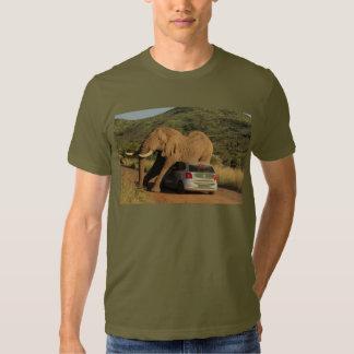 Elephant Sits On It T-shirts