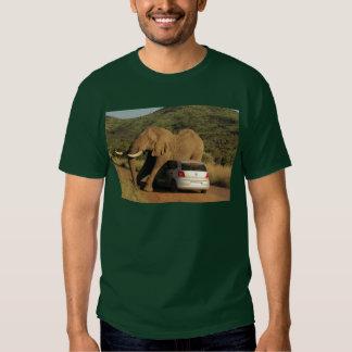 Elephant Sits On It Tshirts