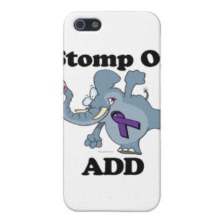 Elephant Stomp On ADD iPhone 5 Case
