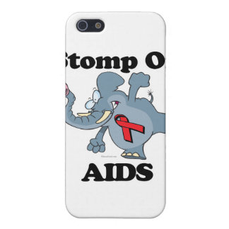 Elephant Stomp On AIDS Cover For iPhone 5