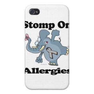 Elephant Stomp On Allergies iPhone 4 Cover