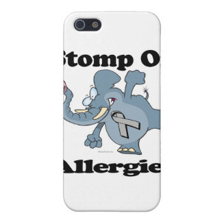 Elephant Stomp On Allergies Cover For iPhone 5