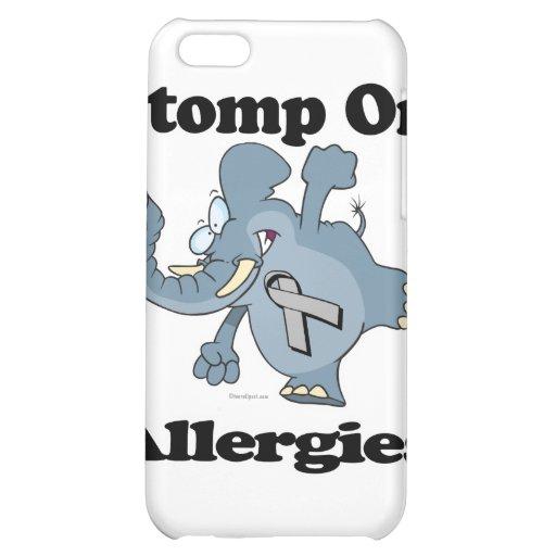 Elephant Stomp On Allergies iPhone 5C Covers