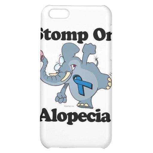 Elephant Stomp On Alopecia iPhone 5C Covers