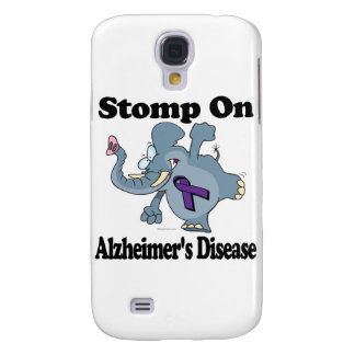 Elephant Stomp On Alzheimers Disease Samsung Galaxy S4 Cases