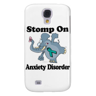 Elephant Stomp On Anxiety Disorder Galaxy S4 Cover