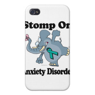 Elephant Stomp On Anxiety Disorder Case For The iPhone 4