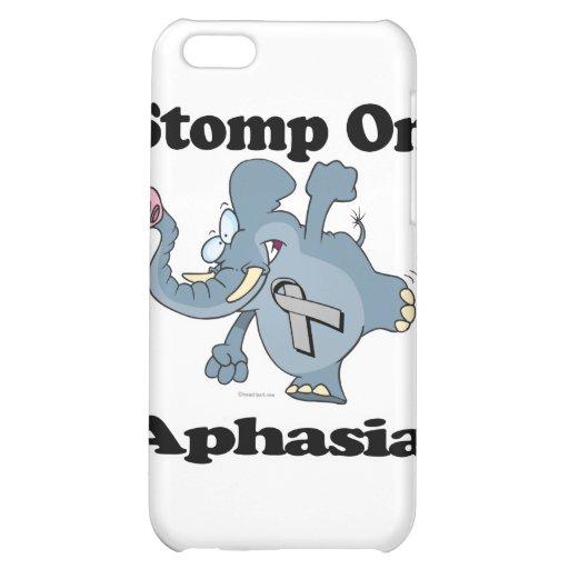 Elephant Stomp On Aphasia iPhone 5C Cases