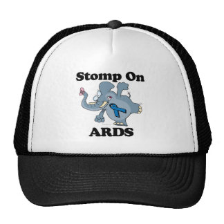 Elephant Stomp On ARDS Trucker Hat