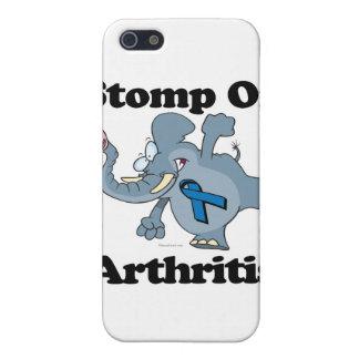 Elephant Stomp On Arthritis iPhone 5/5S Cases