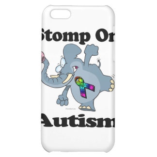 Elephant Stomp On Autism Awareness Design iPhone 5C Covers