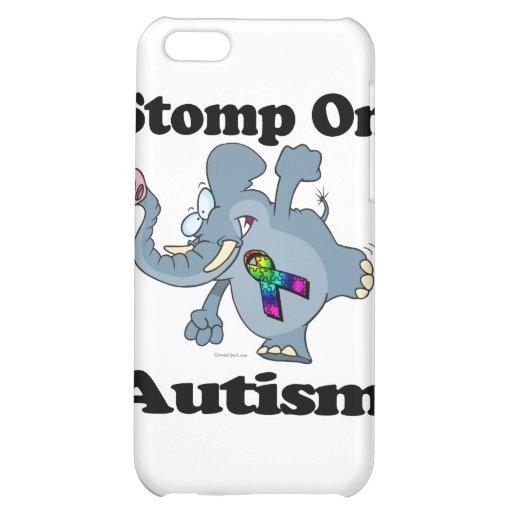 Elephant Stomp On Autism Awareness Design iPhone 5C Cover