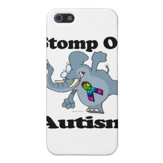 Elephant Stomp On Autism Awareness Design iPhone 5/5S Cover