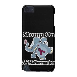 Elephant Stomp On AV Malformation iPod Touch 5G Cover