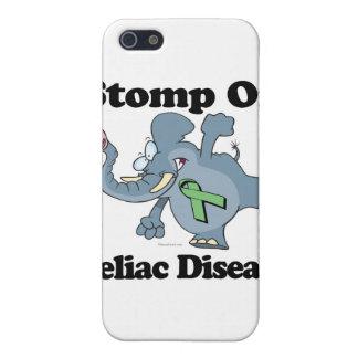 Elephant Stomp On Celiac Disease iPhone 5/5S Cases