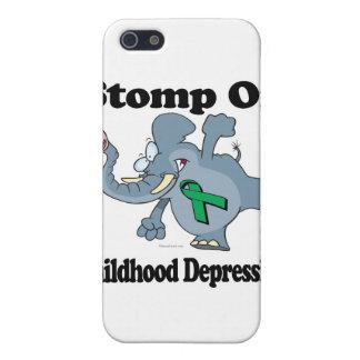 Elephant Stomp On Childhood Depression iPhone 5/5S Cover