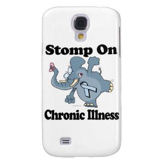Elephant Stomp On Chronic Illness Galaxy S4 Case