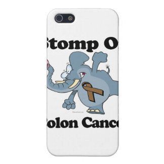 Elephant Stomp On Colon Cancer iPhone 5/5S Case