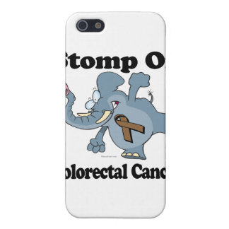 Elephant Stomp On Colorectal Cancer iPhone 5/5S Cases