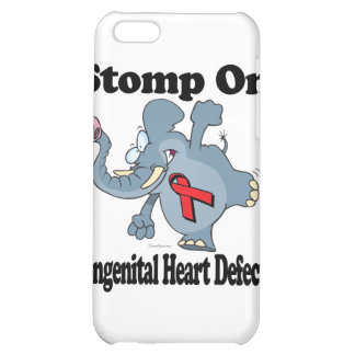 Elephant Stomp On Congenital Heart Defects iPhone 5C Covers