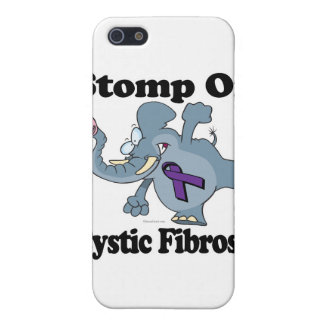 Elephant Stomp On Cystic Fibrosis iPhone 5 Case