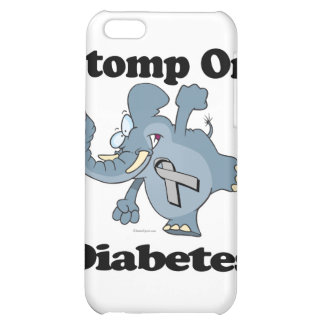 Elephant Stomp On Diabetes Cover For iPhone 5C