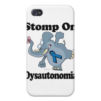 Elephant Stomp On Dysautonomia iPhone 4 Cover