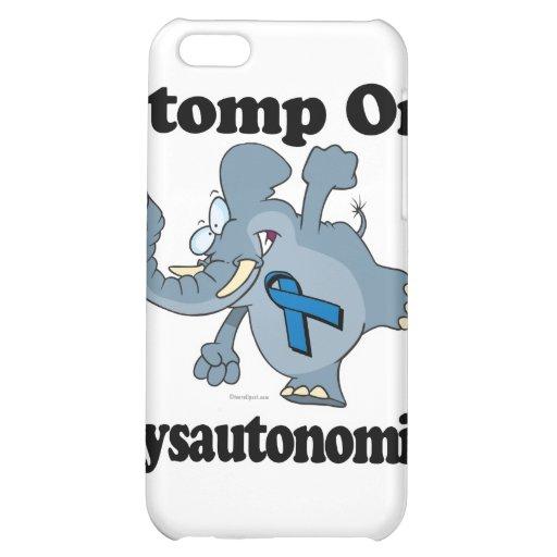 Elephant Stomp On Dysautonomia iPhone 5C Cover