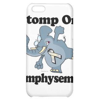 Elephant Stomp On Emphysema Case For iPhone 5C