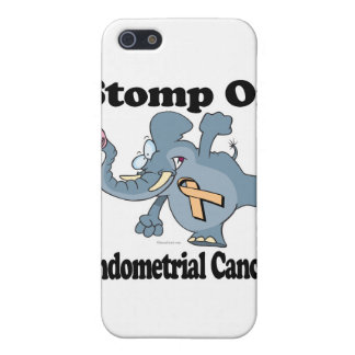 Elephant Stomp On Endometrial Cancer Case For The iPhone 5