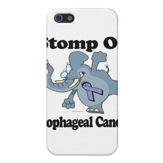 Elephant Stomp On Esophageal Cancer iPhone 5/5S Cases