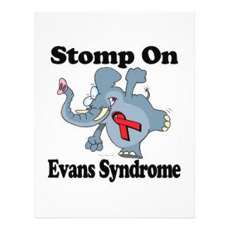 Elephant Stomp On Evans Syndrome 21.5 Cm X 28 Cm Flyer