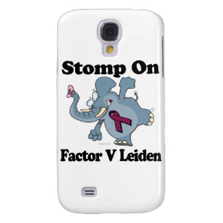 Elephant Stomp On Factor V Leiden Samsung Galaxy S4 Case