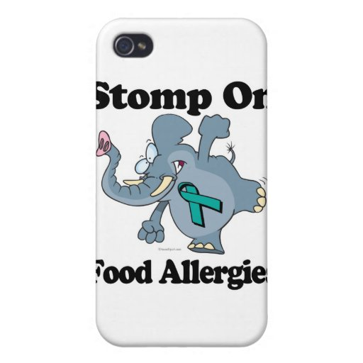 Elephant Stomp On Food Allergies iPhone 4/4S Covers