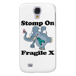 Elephant Stomp On Fragile X Samsung Galaxy S4 Cases