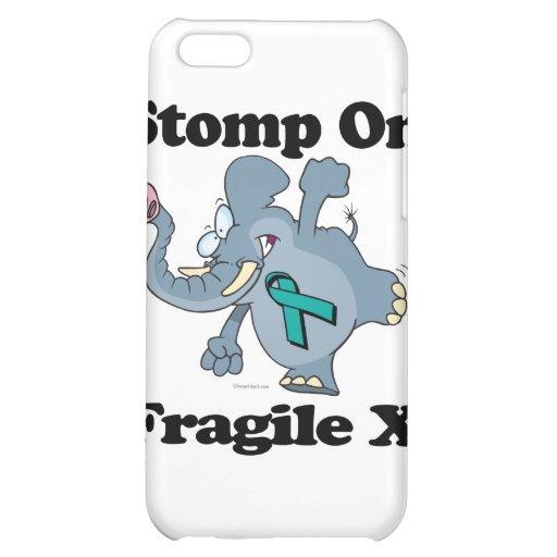 Elephant Stomp On Fragile X iPhone 5C Case