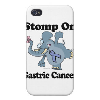 Elephant Stomp On Gastric Cancer iPhone 4 Cases