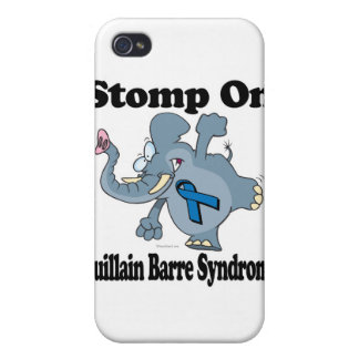 Elephant Stomp On Guillain Barre Syndrome Cases For iPhone 4
