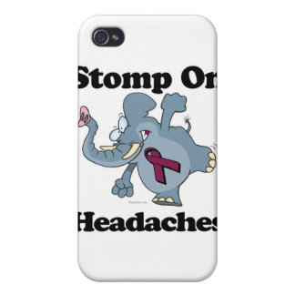 Elephant Stomp On Headaches iPhone 4/4S Covers