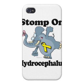 Elephant Stomp On Hydrocephalus Cases For iPhone 4