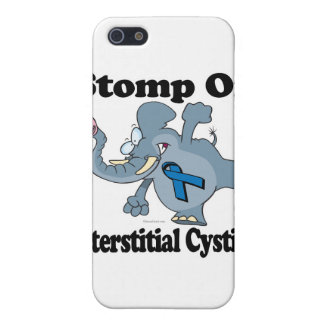 Elephant Stomp On Interstitial Cystitis Case For iPhone 5/5S
